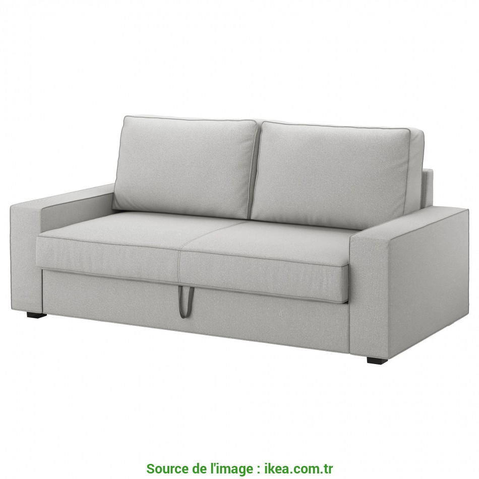 Nuovo VILASUND/MARIEBY 3-Seat Sofa-Bed Orrsta Light Grey, IKEA Living Room