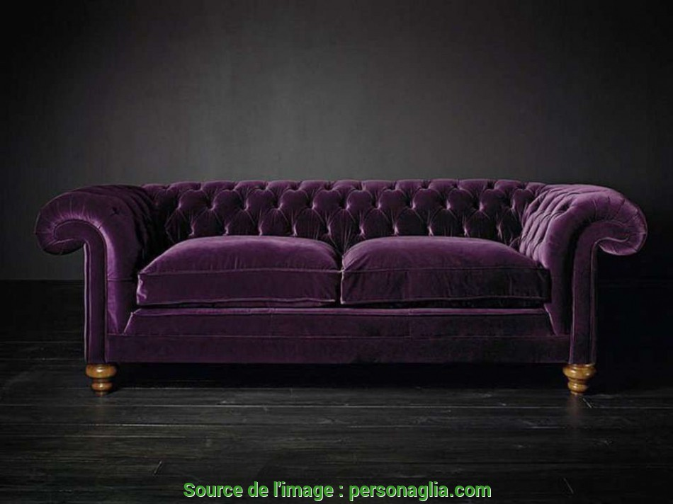 Bello Divano Chesterfield Velluto Verde