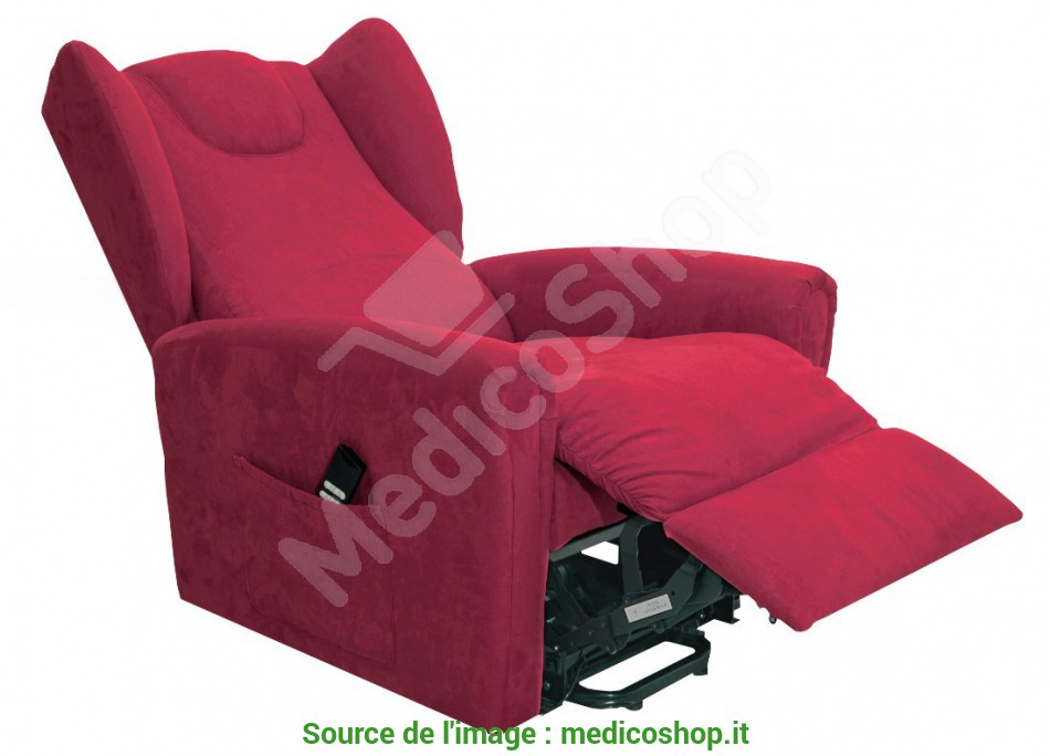 Ideale Poltrona Elevabile A, Motori Lady Bergere Colore Bordeaux