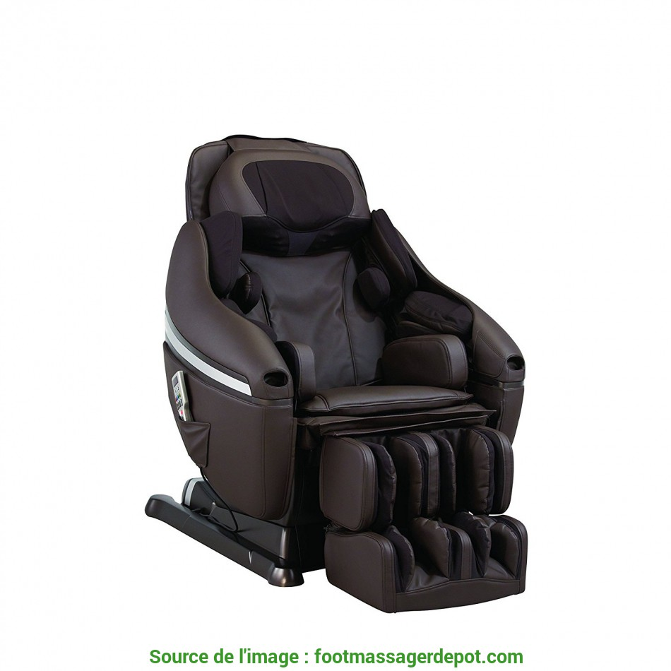 Esperto Inada DreamWave Massage Chair, Dark Brown