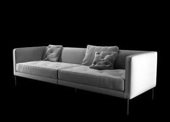 Unico Sofa Cleared Relax 3D 3Ds