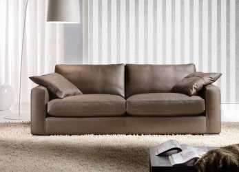 Bello Max Leather Sofa, Cava Divani
