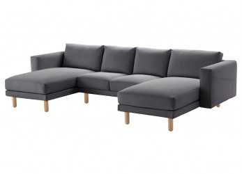 Migliore Divani Rattan Ikea Excellent Luxury Curved Sectional Sofa, Top Ikea Norsborg Seat Sofa Year Guarantee