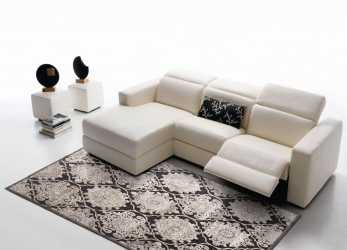 Elegante Rosini Divani, Ancona, DIVANI IN PELLE, Sofa, Couch E Table