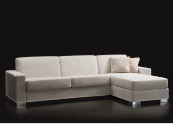 Semplice Duke Convertible Sofa With Storage Chaise Longue, That, Be Turned Into A Double Bed