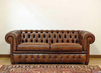 Minimalista Divano Chesterfield Large
