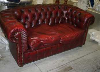 Fresco Divani E Poltrone: Divano Chesterfield, Posti Bordeaux