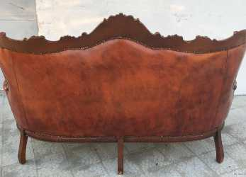 Sbalorditivo Details About DIVANO CHESTERFIELD VINTAGE ORIGINALE INGLESE CHESTER