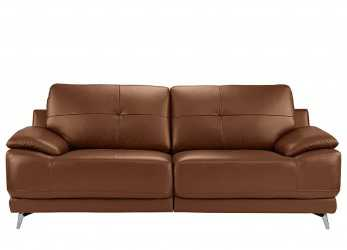 Nuovo Amazon.Com: Divano Roma Furniture, Modern Living Room Leather Sofa (Camel): Kitchen & Dining