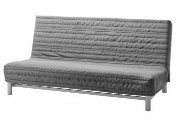 Premio IKEA, BEDDINGE LÖVÅS, Sofa Bed, Knisa Light Gray, , Extra Covers Make It Easy To Give Both Your Sofa, Room A, Look.Easily Converts Into A, Big