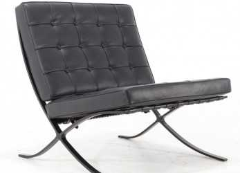 Esotico BARCELLONA ARMCHAIR WITH BLACK LACQUERED FRAME, IBFOR, Your Design Shop
