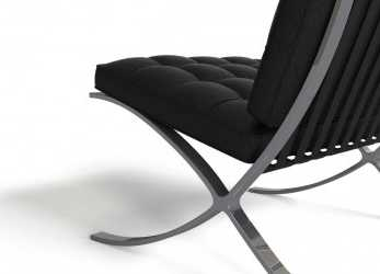 Antico Barcelona Chair, FlyingArchitecture