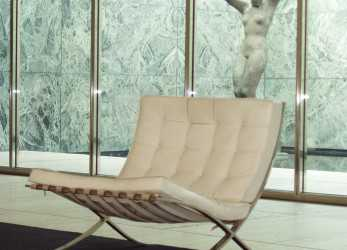Minimalista Barcelona Chair, Mies, Der Rohe, Design & Architecture World