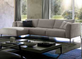 Stupefacente Dudy Sectional By Chateau D'Ax, Italy. Shown In Fabric. Visit Website, Customization Options