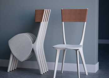 Fresco Palfrey Chair, Tierney Haines Architects Sedie Pieghevoli, Chair
