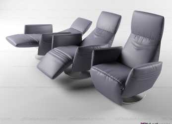 Originale Recliner Chair Pillow » 3D Model Armchair » 3D Furniture Models