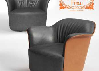 Magnifico Poltrona Frau AIDA 3D Model In Chair 3DExport
