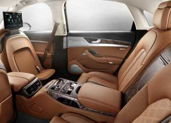 Fantastico 2015 Audi A8 L, Exclusive Concept, Design By Poltrona Frau, Interior Rear Seats