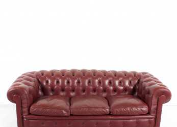 Bello Poltrona Frau 'Chester One' Chesterfield Sofa By Renzo Frau, 1912