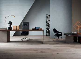 Bello H_O Desk Office Furniture By Claudio Silvestrin, Poltrona Frau