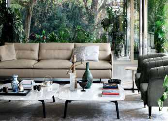 Bello Grantorino Sofa By Jean-Marie Massaud, Poltrona Frau