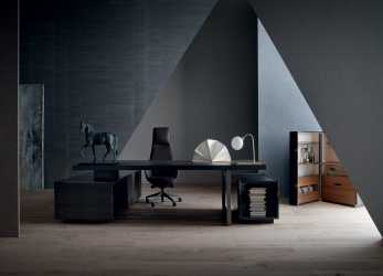Nuovo Jobs Desk Office Furniture By Rodolfo Dordoni, Poltrona Frau
