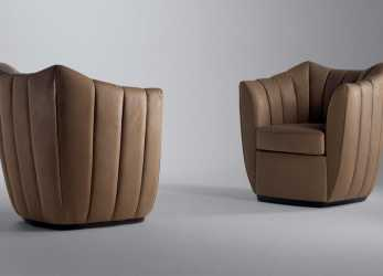 Stupefacente Poltrona Frau Willy, Armchair, Deplain.Com