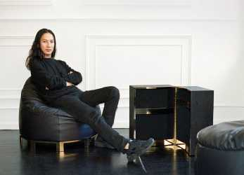 Elegante Alexander Wang Debuts A Furniture Collection, Poltrona Frau, WSJ