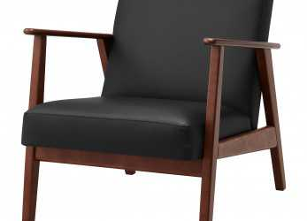 Preferito IKEA EKENÄSET Armchair, Sit Stable, Steady Since, Frame Is Made Of Solid Wood