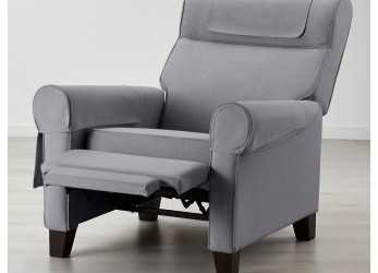 Lussuoso MUREN Recliner, Nordvalla Medium Gray
