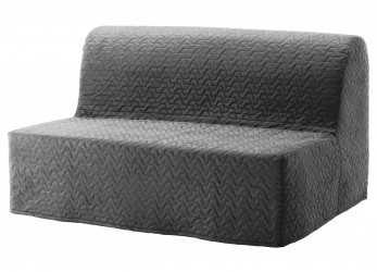 Trending LYCKSELE LÖVÅS Sleeper Sofa, Ebbarp Black/White