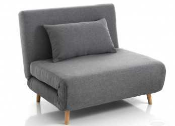 Bello Poltroncine E Pouff : Poltrona / Letto SHIFT GREY