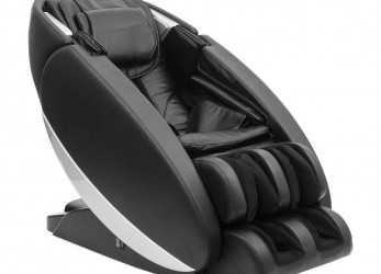 Stupefacente Poltrona Massaggio Shiatsu Full Optionals Ecopelle Nera