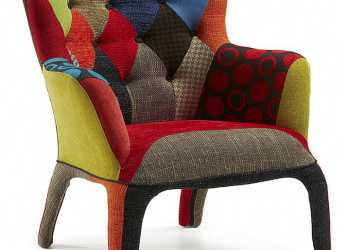 Unico Recyclage Chic, Colour Medicine, Sillon Patchwork, Sillon Diseño