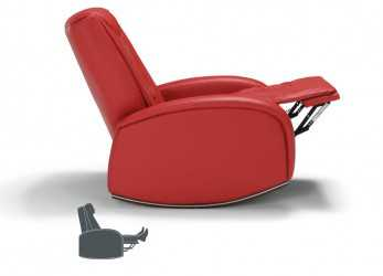 Originale Poltrona Dondolo Relax Massaggio Shiatsu 2 Motori Made In Italy Yara