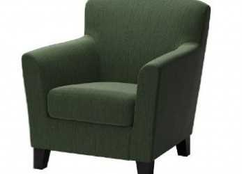 Elegante Ikea Ekenas Green Armchair, Apartment Inspiration 2017