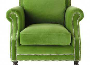 Lussuoso ... Maisons Du Monde. Poltrona In Velluto Verde Dandy. Love, Happy Color. Velvet Armchair In Green Dandy