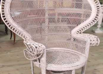 Speciale Details About Armchair Wicker Rattan Furniture Antique Style Vintage Chair Outdoor Antique