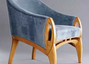 Trending Henry, De Velde Armchair 1902 Great Transition Piece With, Nouveau, The Emerging, Deco Lines