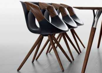 Superiore Up Chair Wooden Arms, Poltroncina Di Design Tonon,, Gambe E