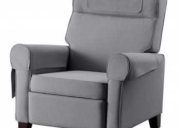Originale IKEA MUREN Recliner When, Lean Backwards,, Built-In Footstool Folds Out