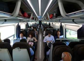 Stupefacente Standard Class Seats On A Frecciarossa From Rome To Florence & Milan