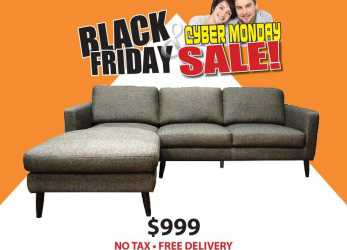 Esperto Divani Black Friday Black Friday Sale On, Ellen Sectional Only, Including Ta Free Local