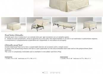 Unico Ghisallo Pouf,, BERTO SALOTTI -, Catalogs, Documentation