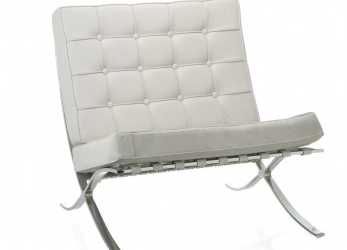 Ideale POLTRONA BARCELONA BRANCO Medium1. Loading Zoom