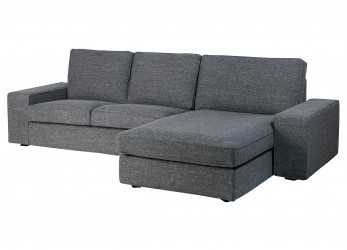 Esotico KIVIK Divano, Posti, Hillared, Chaise-Longue, Hillared, Scuro