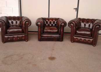 Trending Poltrone Chesterfield Vintage Originali In Pelle