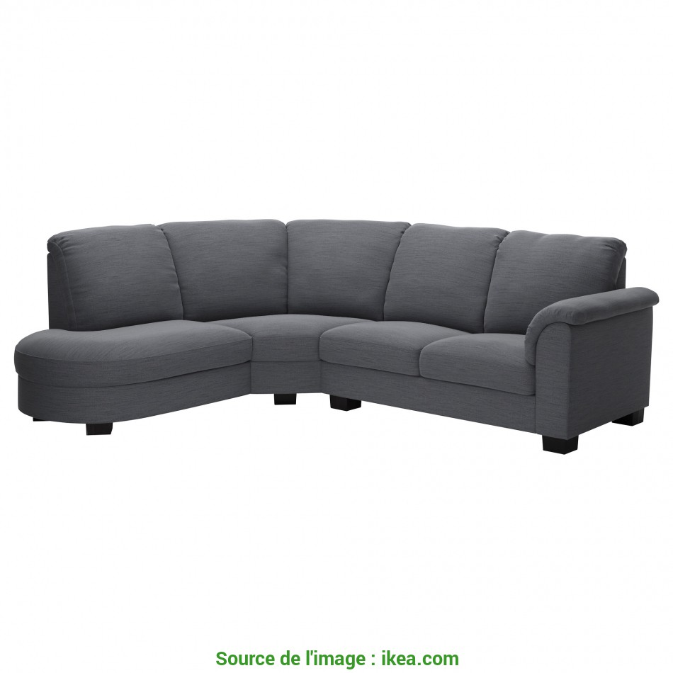 Originale IKEA TIDAFORS Corner Sofa With, Right, High Back Gives Good Support, Your Neck