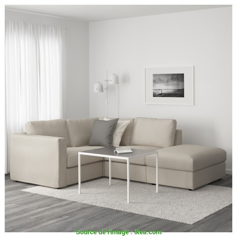 Stupefacente VIMLE Sectional, 3-Seat Corner, With Open End/Orrsta Golden-Yellow, IKEA