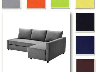 Bello Details About Custom Made Cover Fits IKEA FRIHETEN Corner Sofa Bed, Sofa, With Chaise Cover